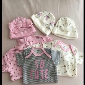 Baby girl onesies 3-6 months